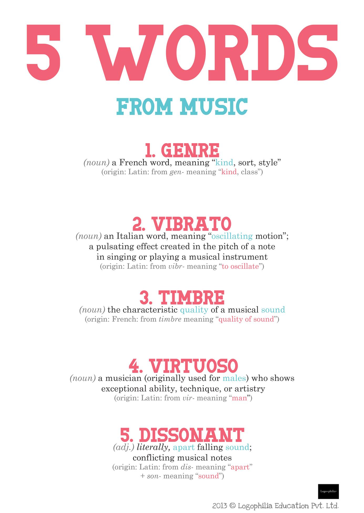 Blog-27-5-words-from-music - Logophilia Edu  Pvt  Ltd  | Pioneers in